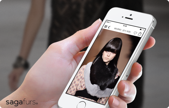 Saga Furs iPhone app