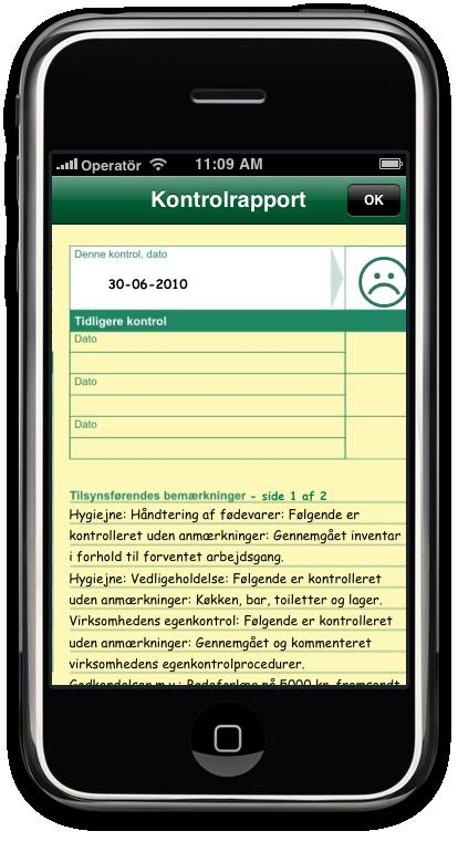 Find Smiley - iPhone - kontrolrapport