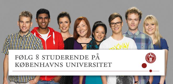 Københavns Universitet - følg 8 studerende