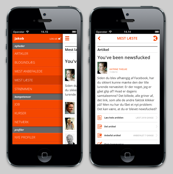 Kforum app - 2010 vs 2013