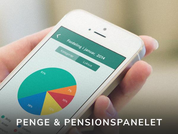 lommebudget app for penge og pensionspanelet