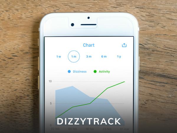 dizzytrack app