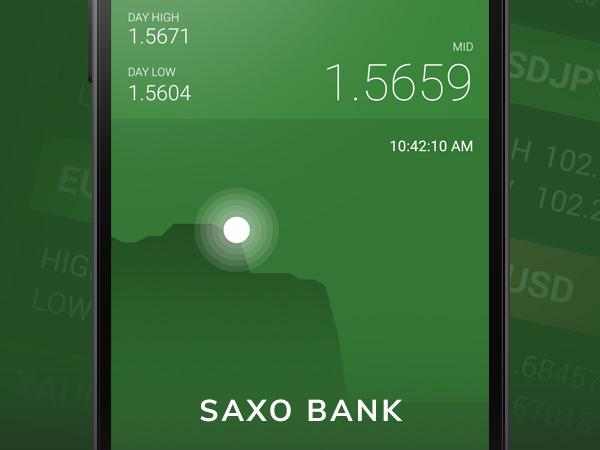 saxo bank widget og daydream