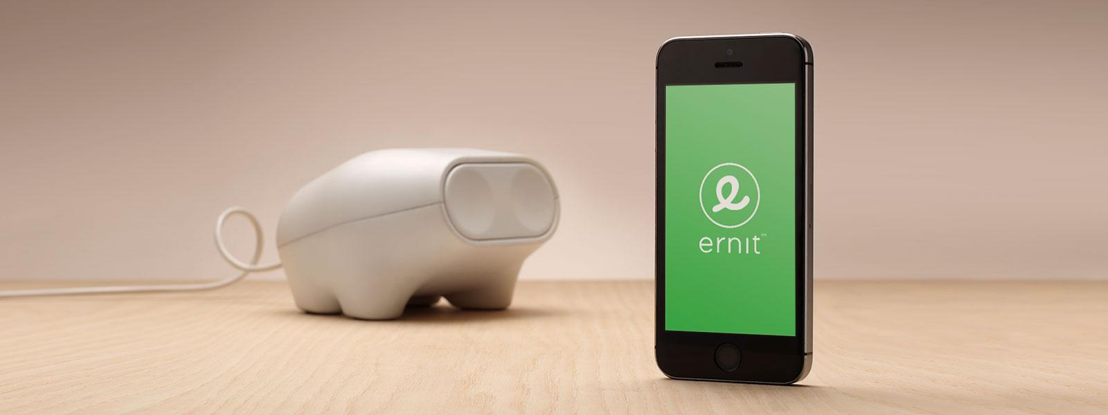 ERNIT – digital sparegris med app lærer børn hvordan man når sine mål