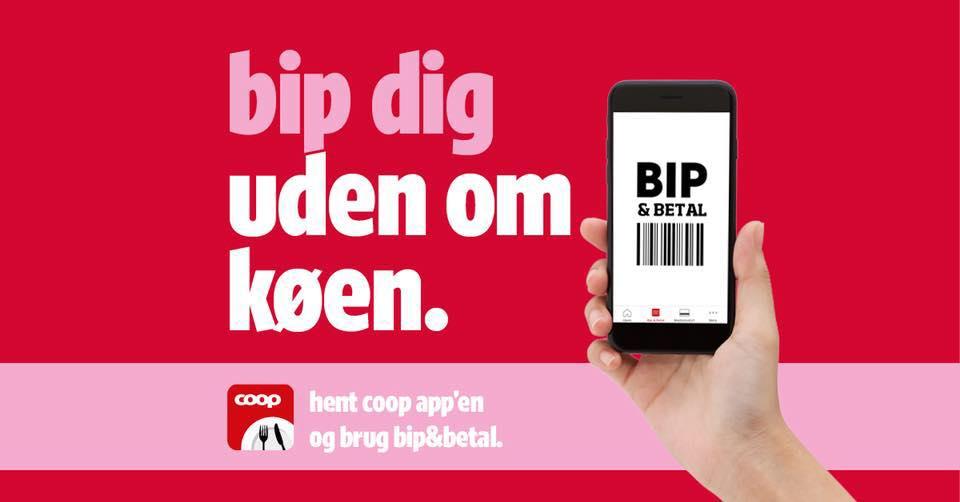 Bip&Betal - selvscanning i Coop appen