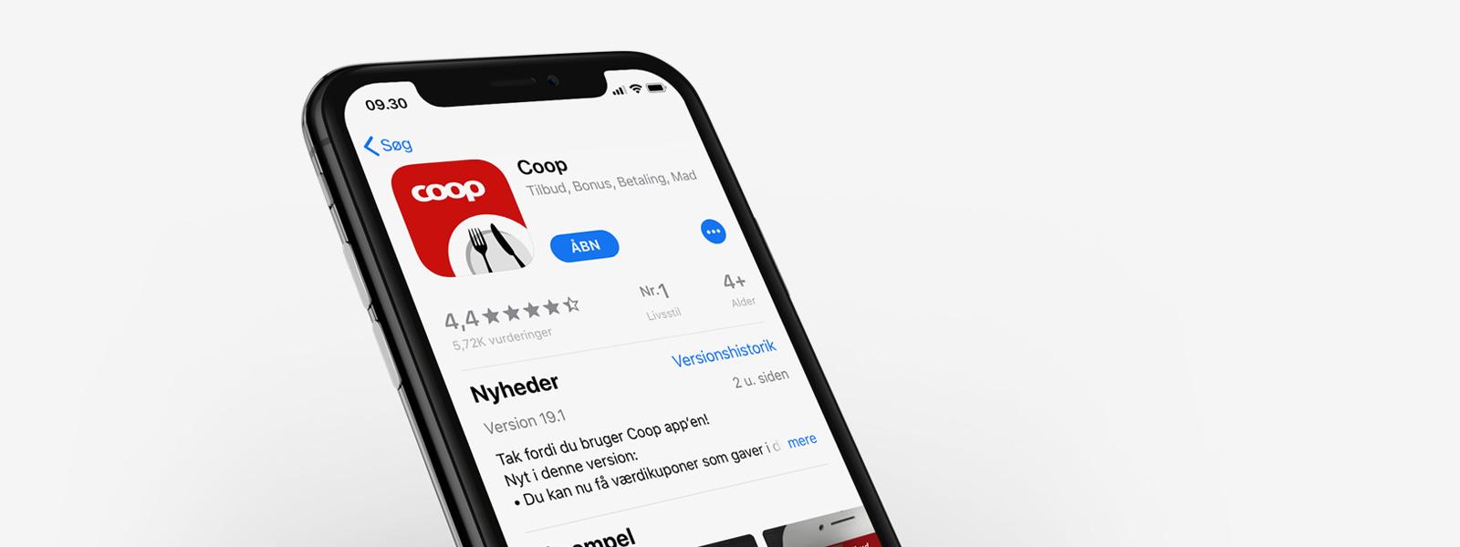 Coop app slår alle rekorder i 2018