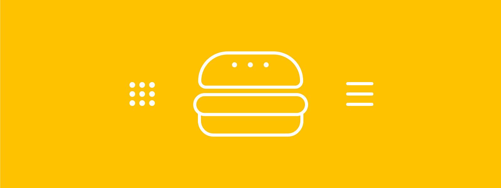 Hamburgeren: Den skjulte navigation