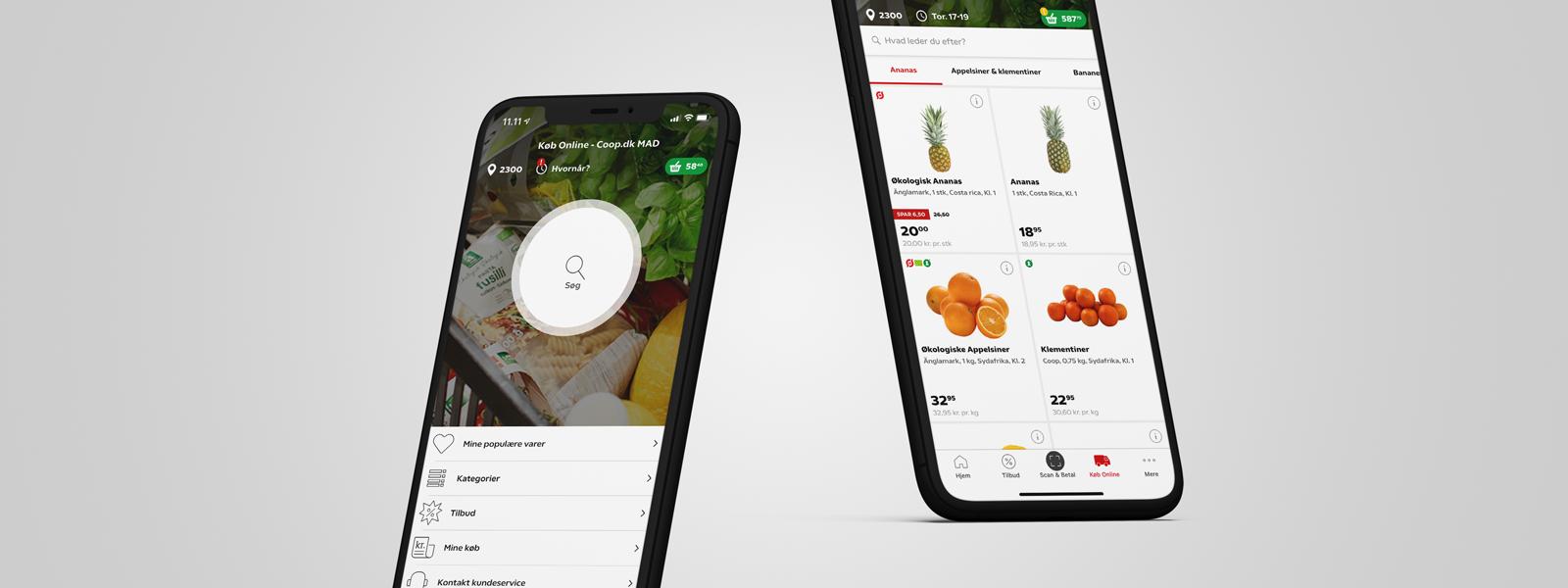Nu kan du også købe ind i Coop Appen